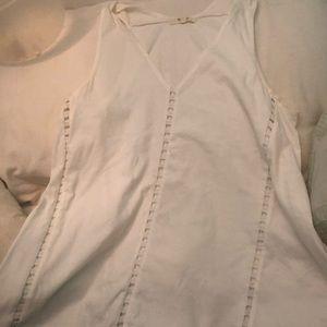 Madewell white tank top